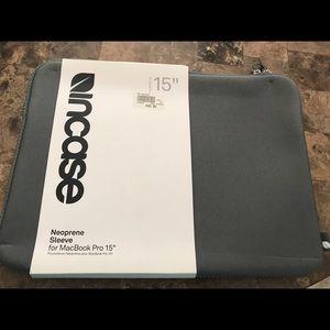 MacBook Pro Neoprene sleeve for 15 inch MacBook